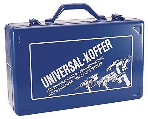 kayser gmbh bohrmaschinenkoffer blau 390x240x112mm stahlblech m ku einlage - KAYSER GmbH Bohrmaschinenkoffer blau 390x240x112mm Stahlblech m.Ku.-Einlage