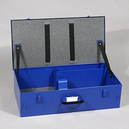 metallkoffer maschinenkoffer blau metall koffer geraetekoffer - Metallkoffer Maschinenkoffer blau Metall Koffer Gerätekoffer
