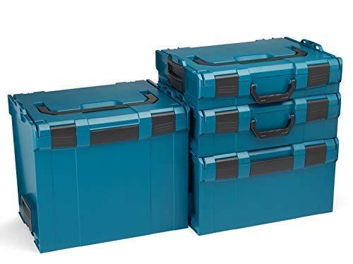 Bosch Sortimo L-Boxx Werkzeugkoffer Set   Größe 102-374 in Grün   Bosch Werkzeugkoffer Leer   Kompatibel mit L-Boxx