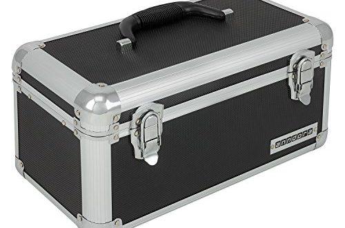 anndora Werkzeugkoffer 13 L Transportbox Werkzeugkasten Werkzeugbox schwarz 500x330 - anndora Werkzeugkoffer 13 L Transportbox Werkzeugkasten Werkzeugbox - schwarz